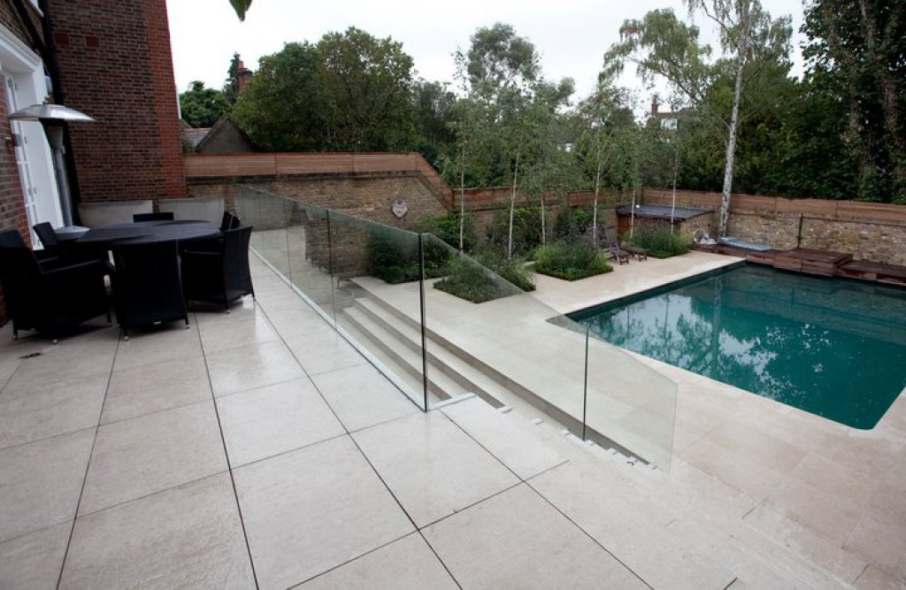 Am nagement ext rieur piscine morges deco stone Piscine exterieur