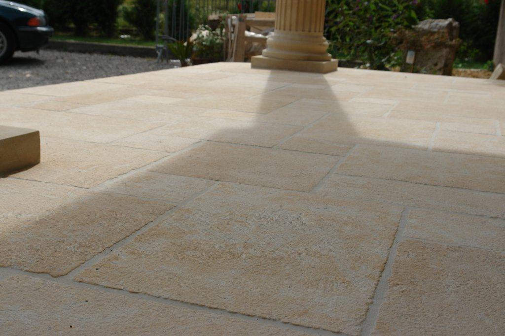 Am nagement ext rieur pav s dalles morges deco stone for Dalles exterieur